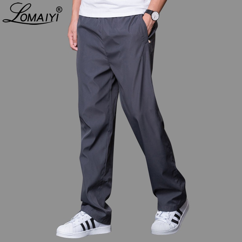 Plus Size 6XL Men's Summer/Autumn  Casual Pants