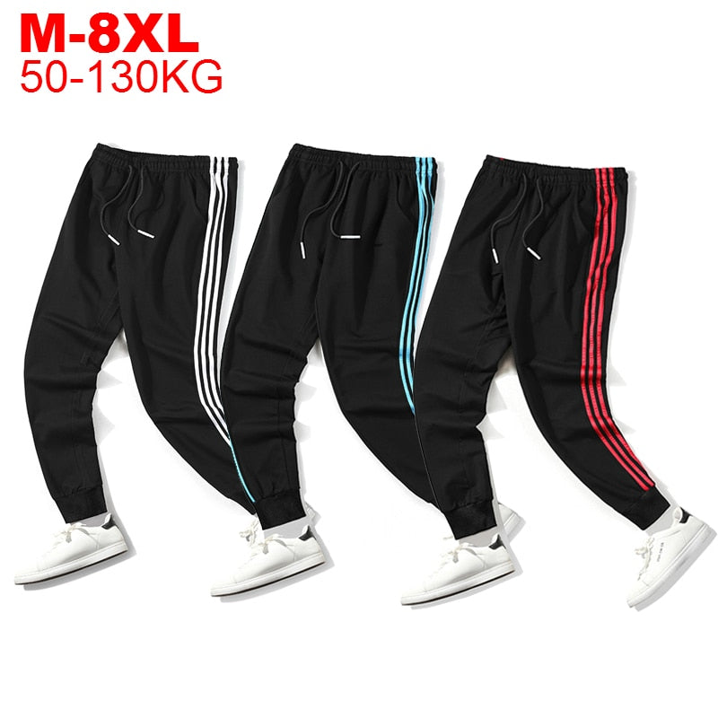 Plus Size 8xl 7xl 6xl Mens Casual Sports Pants