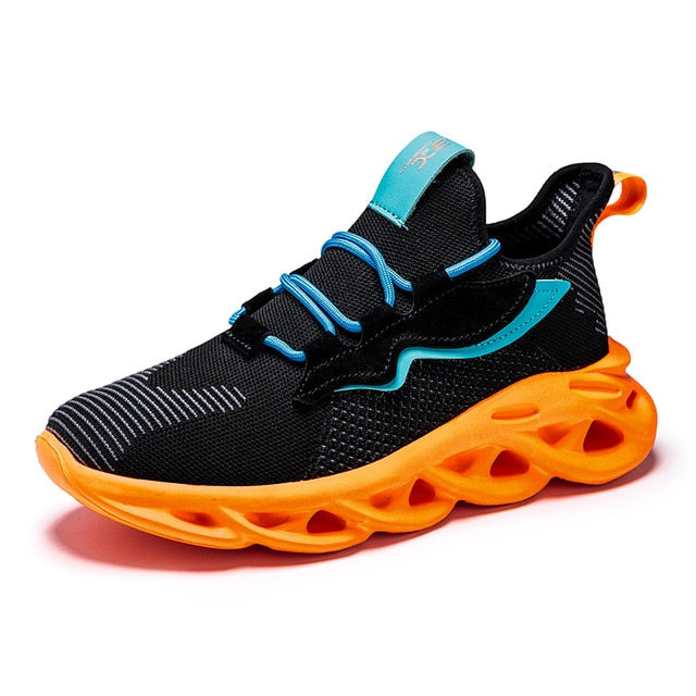 Rubber Cushioning Running Sneakers Breathable Men Shoes