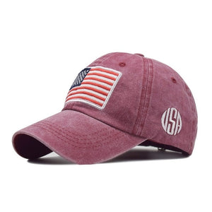 USA American Flag US Unisex Hip Hop Hat