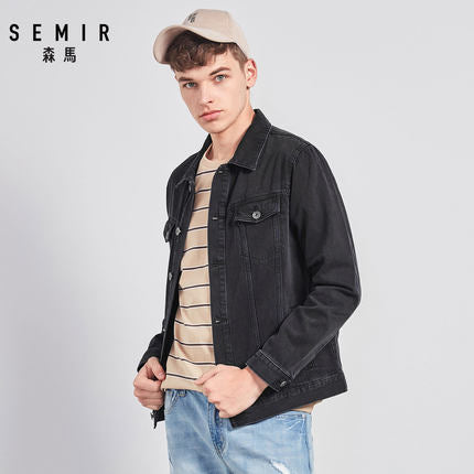 Fashion Outwear Denim Coat For Man