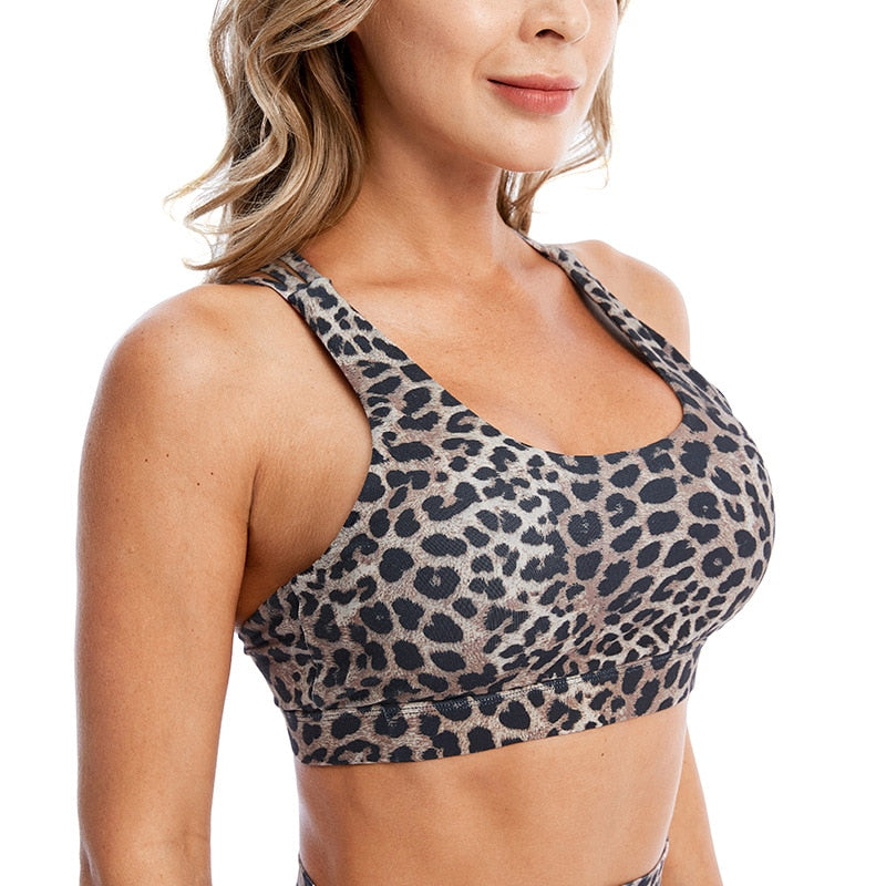 Fitness Beauty Back Bra Crop Top Sportswear