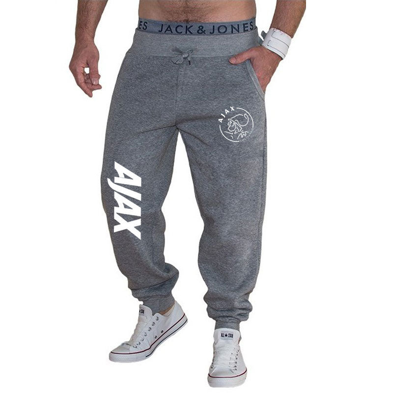 Fashion AJAX sports pants men's jogging pants sportswear bottoms