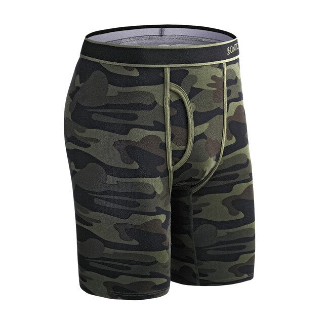 Men's Cotton Boxers Long Boxer shorts
