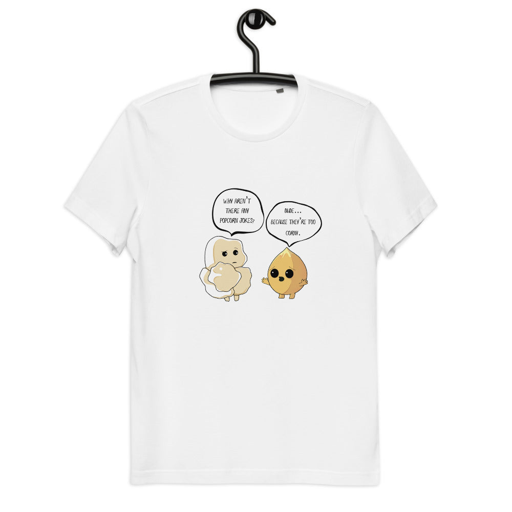 Corny Jokes - Men's Organic Cotton T-Shirt - WÆCK