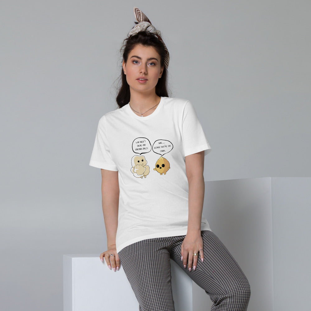 Corny jokes - Women's Organic Cotton T-Shirt - WÆCK