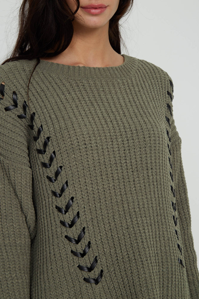 Liquorish Military Jumper