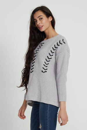 Liquorish Grey Jumper