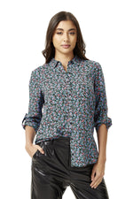 Multicolour Floral Shirt with Long Sleeves
