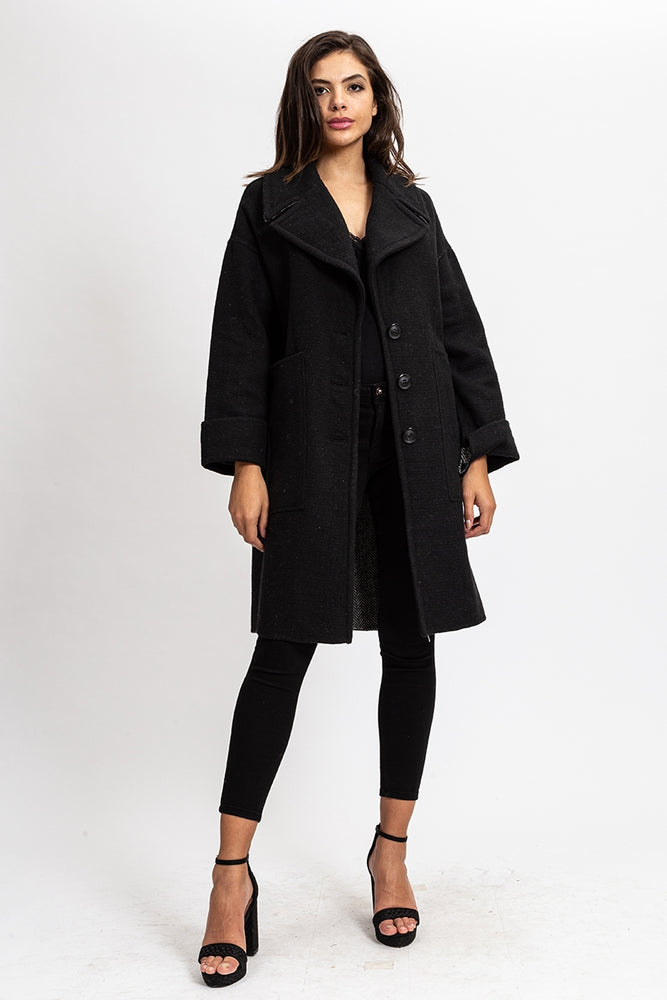 Liquorish Black Coat