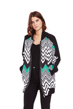 Liquorish Oversized Bomber Jacket