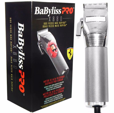 Babylisspro Fxf880 Ferrari Designed Supercharged Adjustable Clipper X880 Prohair