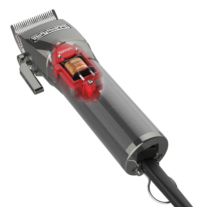 BabylissPro Fxf880 Ferrari Designed Supercharged Adjustable Clipper X880 - Hair Clipper - Prohair