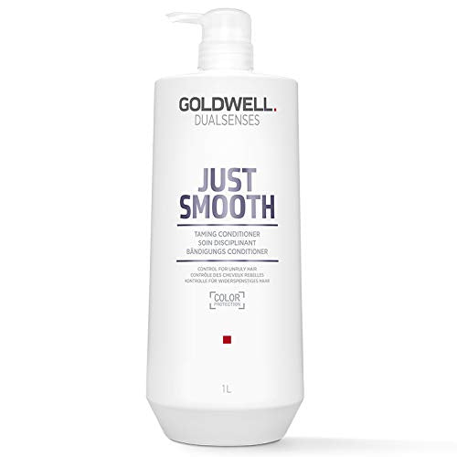 Goldwell Dual Senses Just Smooth Taming Conditioner (Control for Unruly Hair), 33.799999999999997 ounces - Beauty - Prohair