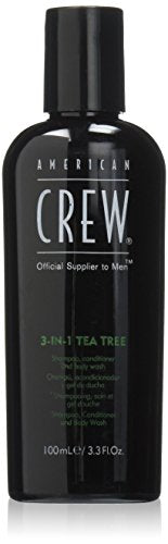 American Crew - 3in1 Tea Tree Shampoo, Conditioner, Body Wash - Beauty - Prohair