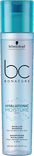Schwarzkopf - Bc Bonacure - Hyaluronic Moisture Kick Micellar Shampoo (for Normal To Dry Hair) - Shampoo - 250ml - Prohair