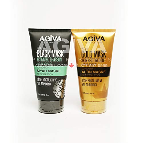 Agiva - Peel Off Gold Mask Skin restoration Anti-Blackhead 150 Ml - Gold Mask - Prohair
