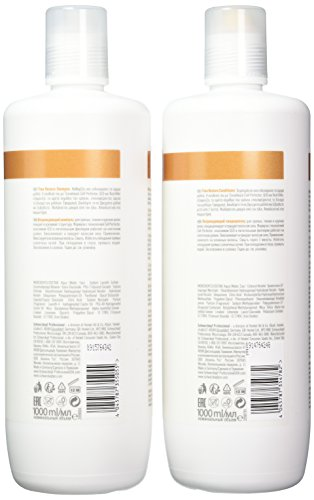 Schwarzkopf - Bc Bonacure - Time Restore Shampoo and Conditioner Liter Duo - Beauty - Prohair