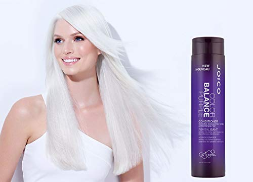 Joico - Color Balance Purple - Conditioner (eliminates Brassy/Yellow Tones On Blonde/Gray Hair) - Beauty - Prohair