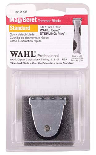 Wahl Professional Detachable Replacement Blade #2111 – Fits Echo, Beret, MAG and Sterling 4 Trimmer Models - Beauty - Prohair