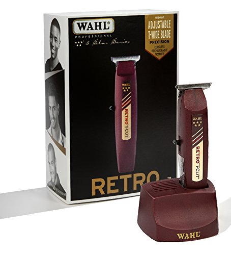 Wahl - 5 Star Series - Retro T-Cut Cordless Trimmer | 8412 | - Hair Trimmer - Wahl Prohair