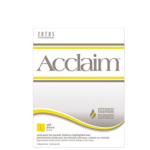 Zotos Acclaim Acid Perm for normal, tinted or highlighted hair (soft) - Beauty - Prohair
