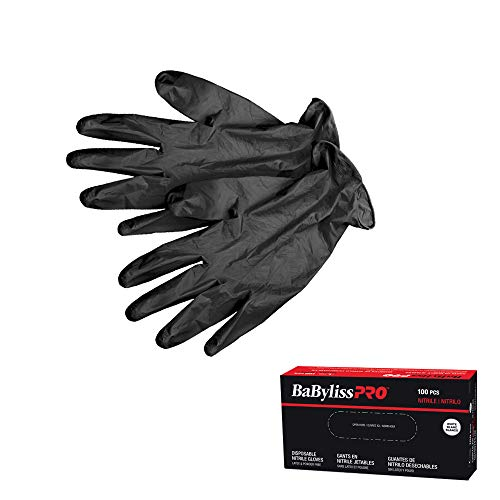 BaBylissPRO Disposable Nitrile Gloves- Small, 100 - Gloves - Prohair