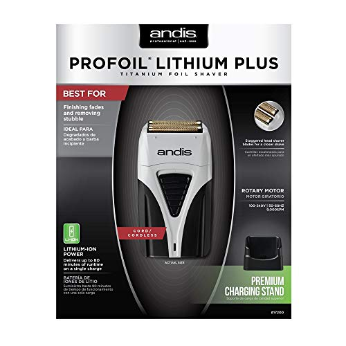 Andis - Profoil Lithium Plus Shaver 17200 - Beauty - Prohair