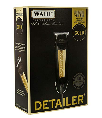 Wahl Professional 5-Star Series Detailer - With Adjustable T-Blade - Beauty - Prohair