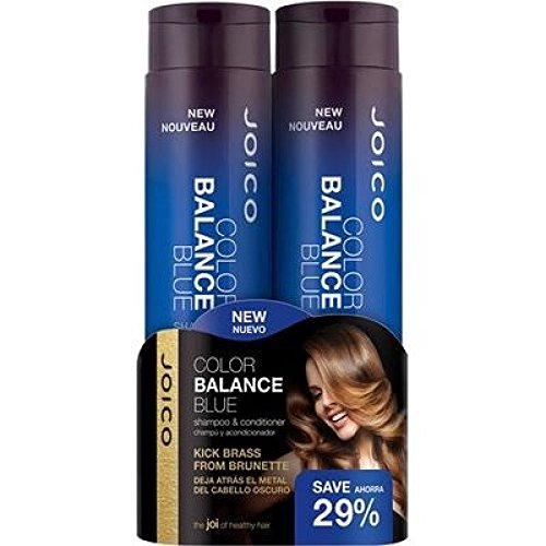 Joico - Color Balance Blue - Shampoo & Conditioner Duo | 300ml | - Beauty - Prohair