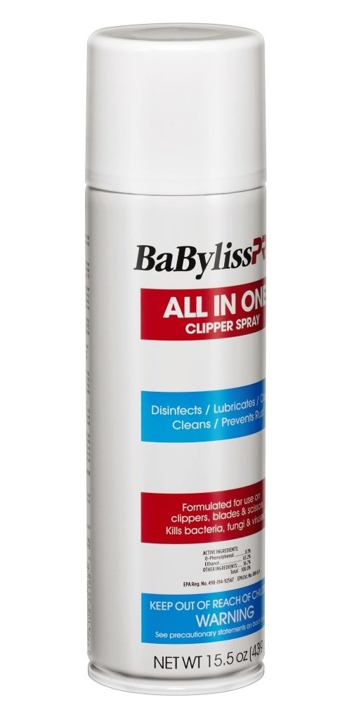 BaByliss Barberology All In One Clipper Spray, 15.5 Oz - Prestige Beauty - Prohair