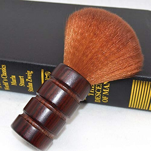 Barber Neck Duster With Wood Handle. - Beauty - Prohair