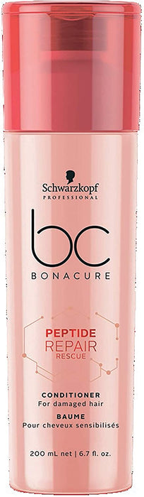 Schwarzkopf - Bc Bonacure - Peptide Repair Rescue Conditioner (for Damaged Hair) - Beauty - 200ml - Prohair