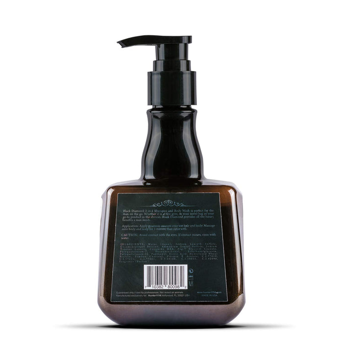 Hunter 1114 Black Diamond 2 in 1 Shampoo and Body Wash 8.5 fl oz