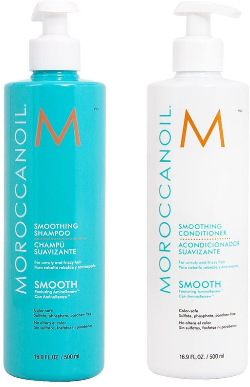 Moroccanoil - Smooth shampoo and conditioner duo 16.9 fl.oz/500ml - Beauty - Prohair