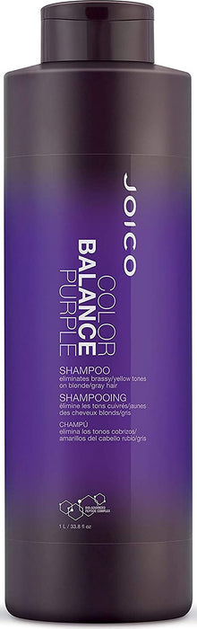 Joico - Color Balance Purple - Shampoo - Beauty - 1L - Joico Prohair