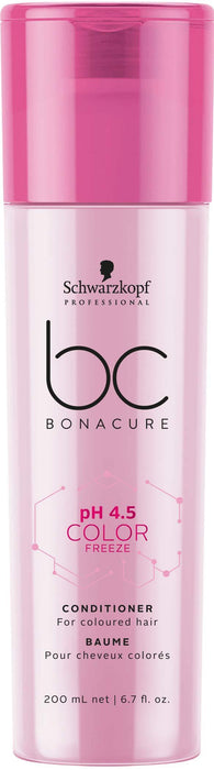 Schwarzkopf - Bonacure - Ph 4.5 Color Freeze Conditioner (for Coloured Hair) - Hair Conditioner - 200ml - Prohair