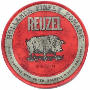 Reuzel - Red High Sheen Pomade - Hair Products - Prohair