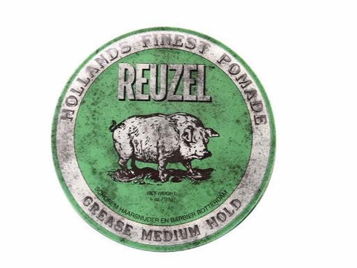 Reuzel - Green Medium Hold Grease - Hair Products - Prohair