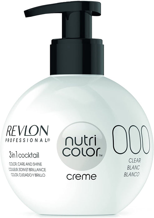 Revlon Professional - Nutri Color Creme - Hair Color - 000 - Transparent / 270ml - Prohair