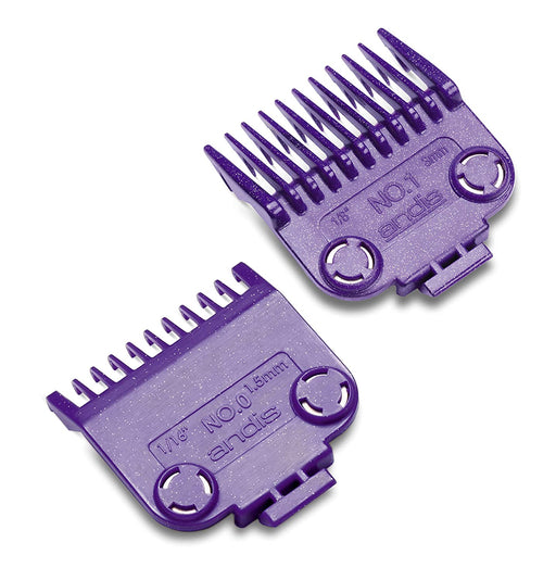 Andis Master Clipper Magnetic Comb Set — dual pack sizes(2pcs) 0.0 & 1 - |01900| - Beauty - Prohair