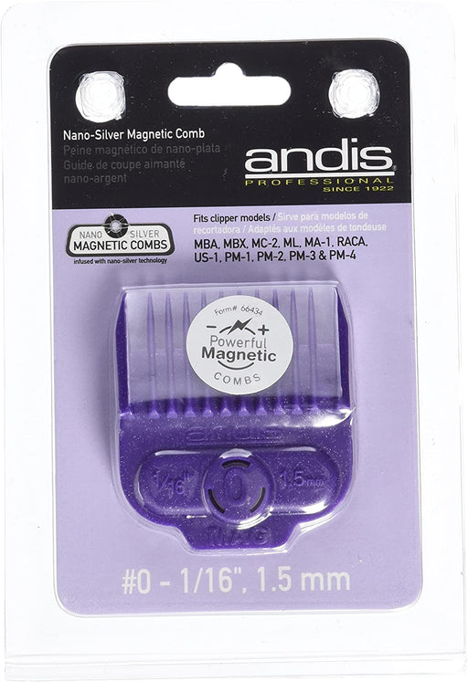Andis pro nano magnetic attachment comb, 1 Count - |66430| - clipper guide - Prohair