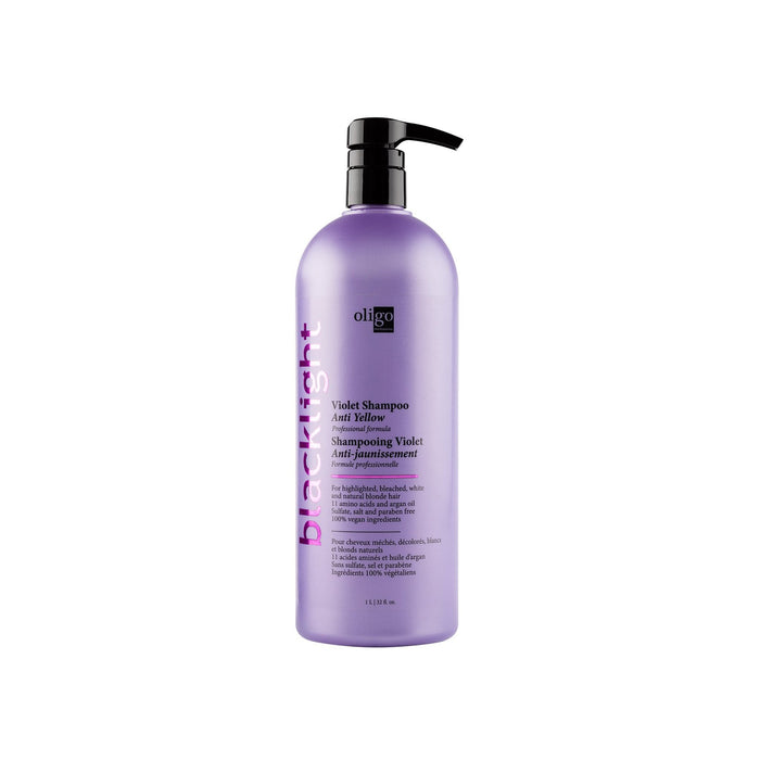 Oligo - Blacklight - Anti-Yellow Violet Shampoo - Shampoo - 1L - Prohair