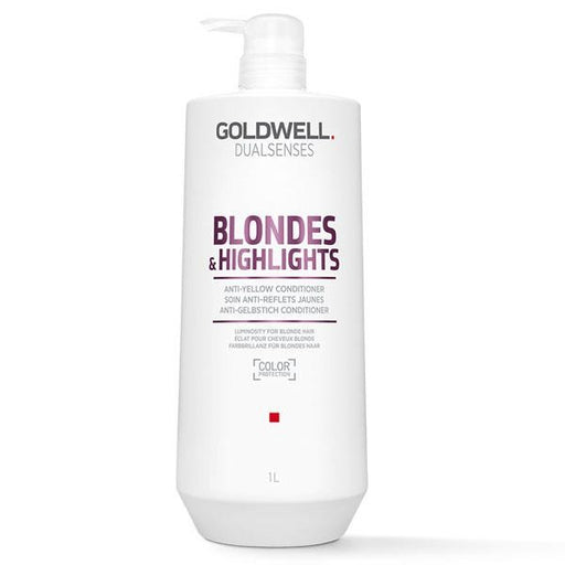 Goldwell Dual Sense - Blondes & Highlights - Conditioner |33.8oz| - Hair Products - Prohair