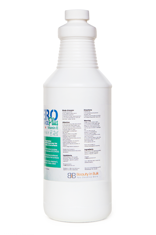Zero Tolerance Plus Hand/Surface Sanitizing Spray with Vitamin E - Cleaning Spray - Prohair