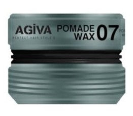 Agiva - Styling Pomade Wax 07 Strong Hard Fiber Texture 175ml - Hair wax - Agiva Prohair