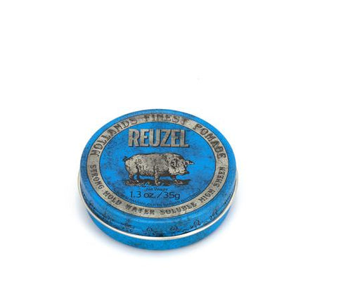 Reuzel - Blue Pomade - Hair Products - 1.3oz | 35g - Prohair