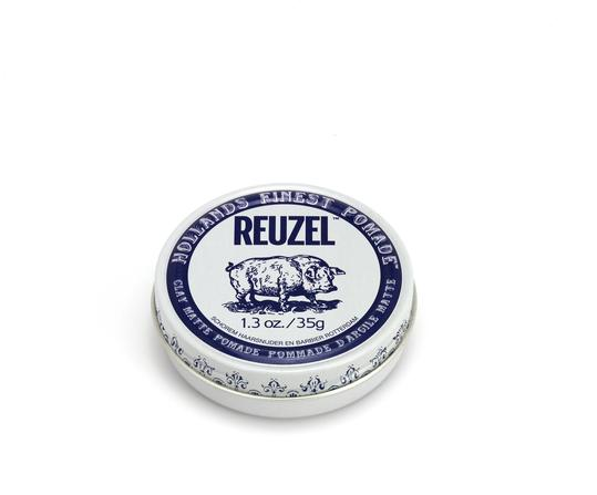 Reuzel - Clay Matte Pomade - Hair Products - 1.3oz | 35g - Prohair
