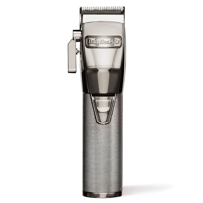 BaBylissPRO Metal Lithium Clipper - Luxury Beauty - SilverFx - Prohair