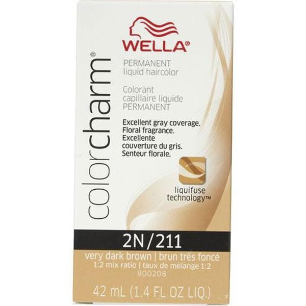 Wella - Color Charm - Permanent Color - Color Charm 2N - Hair Products - Prohair